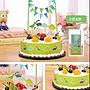 恐龍 蛋糕插旗卡通裝飾生日派對創意 ~ 多種生...