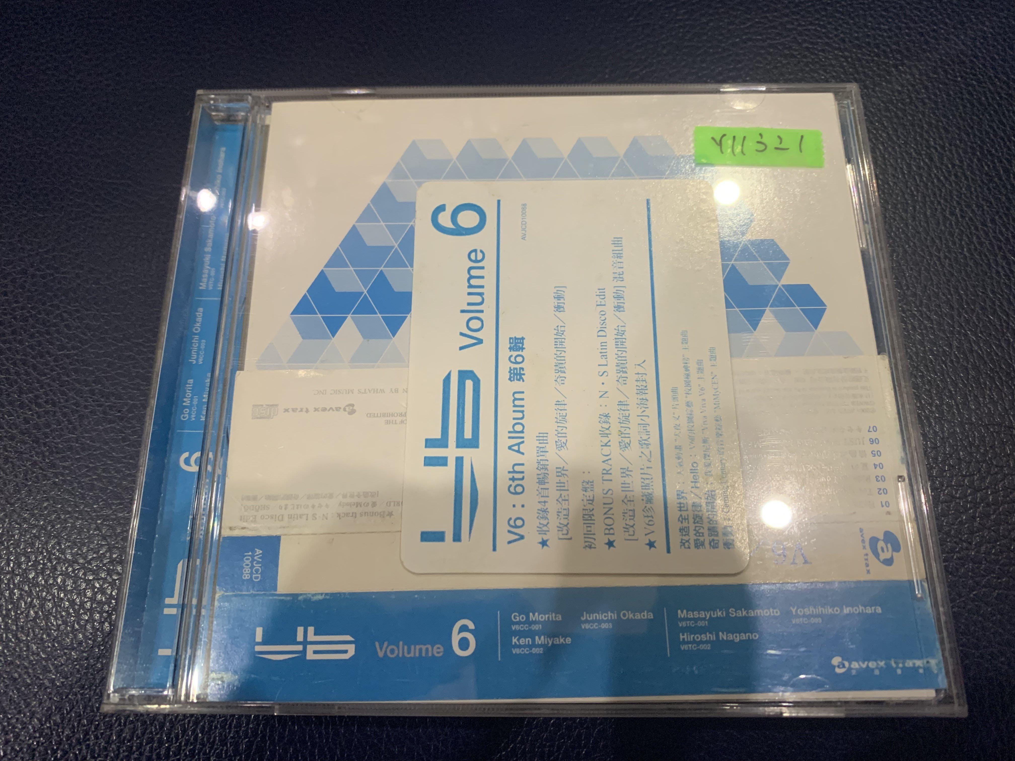 *還有唱片行*V6 / VOLUME 6  二手 Y11321