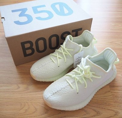 XinmOOn Adidas YEEZY BOOST 350 V2 F36980 Butter 機能 經典 奶油黃 女