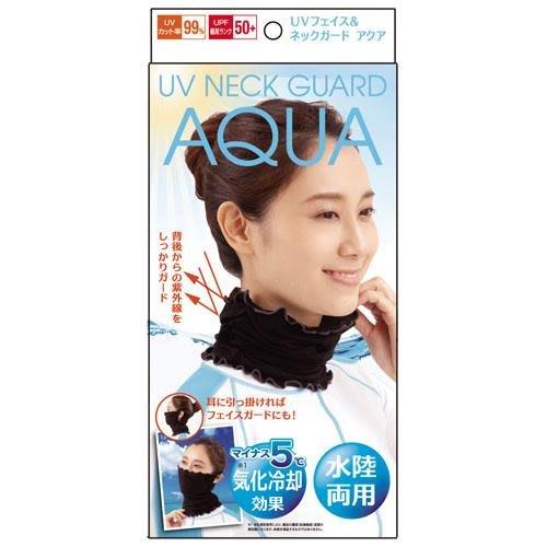 【東京速購】日本代購 AQUA 涼感 抗紫外線 UV 防曬 護頸套 口罩