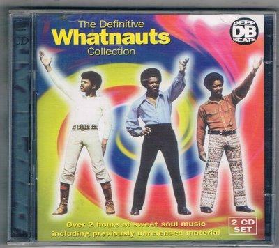 [鑫隆音樂]西洋CD-The Definitive WHATNAUTS Collection-2CD{DEEPD005}