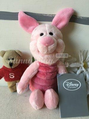 【Sunny Buy 玩具館】◎現貨◎ 正版7吋 迪士尼 Disney 小熊維尼 小豬皮潔/Piglet 18cm