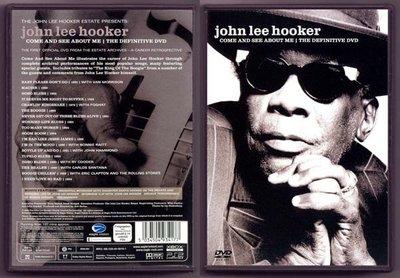 音樂居士#藍調大師 John Lee Hooker Come And See About Me () DVD