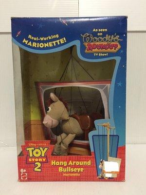 【卡漫精品館】Disney 迪士尼【Toy Story 2  胡迪的紅心馬Hang Around 】全新絕版逸品