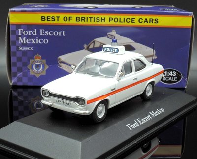 【M.A.S.H】[現貨特價]  Altas 1/43 Ford Escort Mexico police