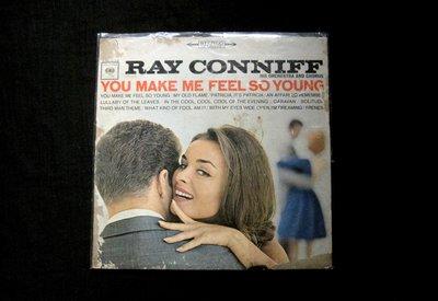 絕版黑膠唱片----RAY CONNIFF----YOU MAKE ME FEEL SO YOUNG