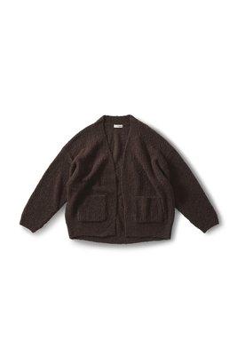 日本 19冬 深茶色的濃郁復古氣質 柔軟針織開衫  (現貨款特價)
