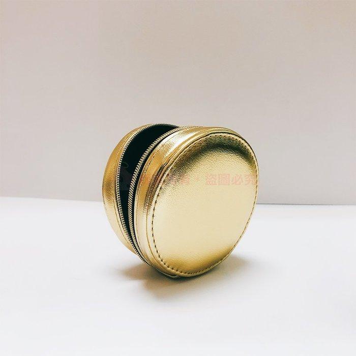 YSL 聖羅蘭~精品圓包金色(尺寸直徑約8*厚度3.5cm)【天使愛美麗】現貨