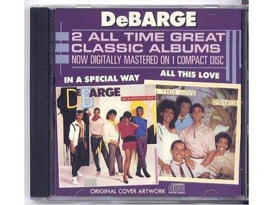 日本三洋盤 迪巴吉家族樂團 DeBarge All This Love In A Special Way