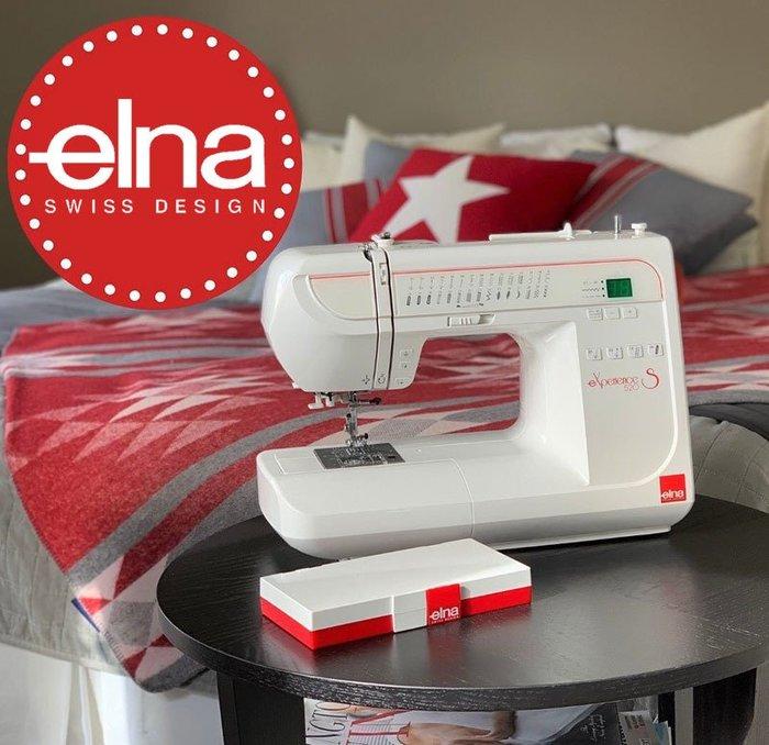 【你敢問我敢賣!】elna eXperience 520S 縫紉機 全新公司貨 可議價『請看關於我,來電享有勁爆價』