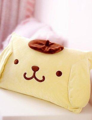 【Ziga*里家】☆日單可愛Pompom Purin.布丁狗毛絨枕頭套.枕套.枕巾套.不含枕芯~☆現貨