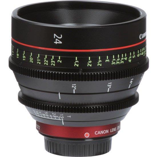 九晴天(租電影鏡頭,租鏡頭) Canon CN-E 24mm T1.5 (EF)