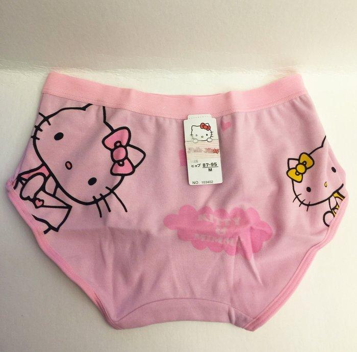 ^燕子部屋 ^凱蒂貓 Hello Kitty 可愛內褲 M(87~95)粉色