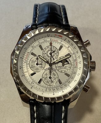 BREITLING 百年靈 Bentley Mulliner Prepetual 限量萬年曆月象計時機械錶