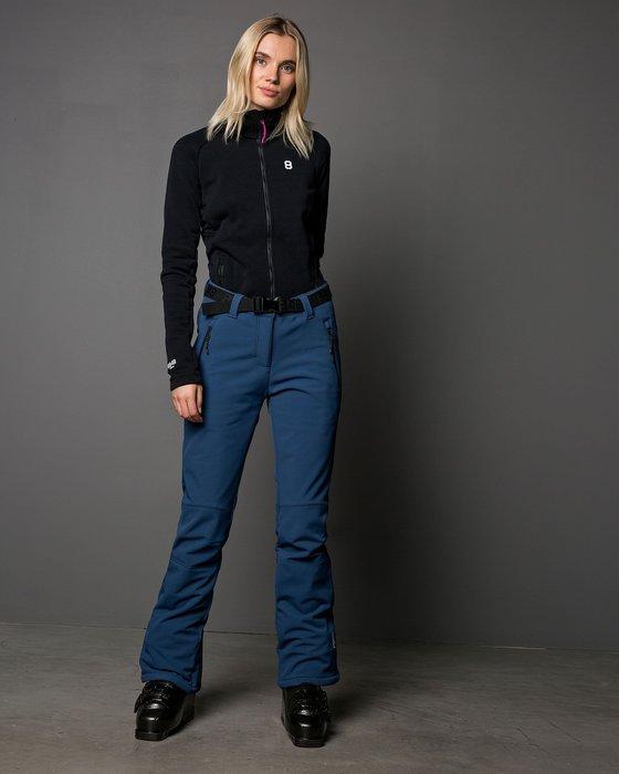 【荳荳物語】歐洲品牌8848 mimmi刷毛軟殼保暖女款滑雪褲,防水係數8k,2980元