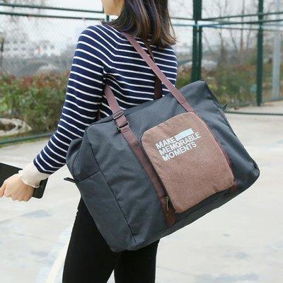 簡約便攜可折疊旅行包旅行收納袋手提包行...
