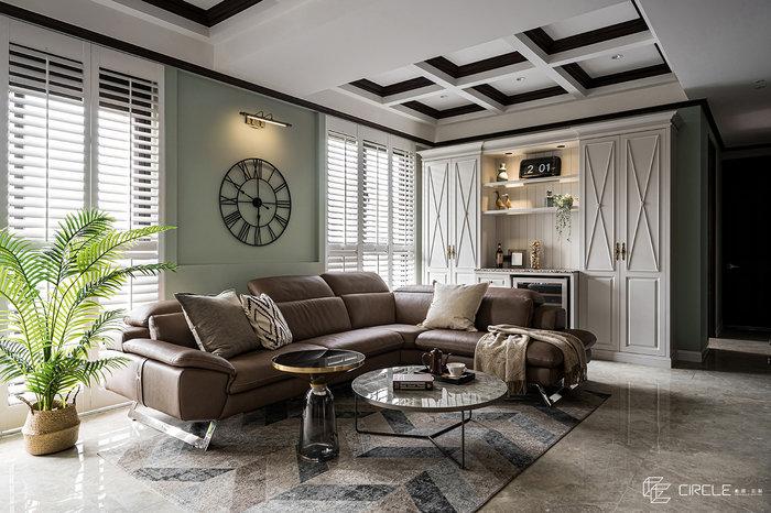 新北市板橋住宅設計|微醺•英格蘭【帷圓定制】
