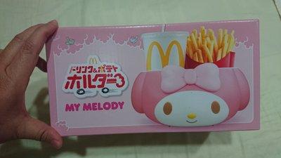 全新未拆日本麥當勞美樂蒂野餐盒置物盒