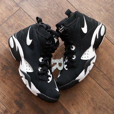 R代購 NIKE AIR MAESTRO II LTD 黑白 拉鍊 籃球鞋 PIPPEN AH8511-001 男女