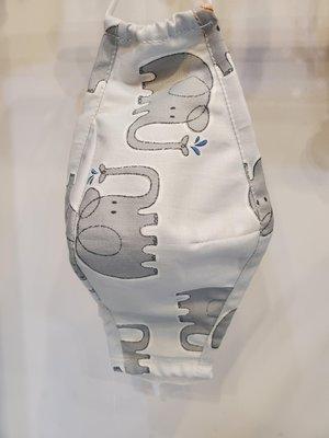純棉立體布口罩  醫學專家建議布口罩+醫療口罩 雙重保護有接近N95的防護效果 類似3M布口罩