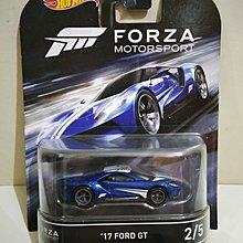 Hotwheels 風火輪 : Forza Motorsport '17 Ford GT 福特 Real Riders 橡膠呔