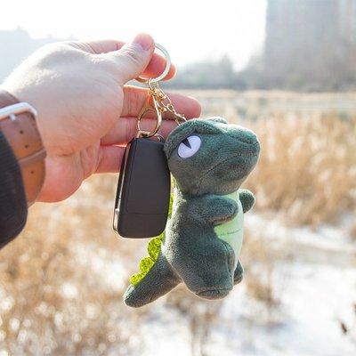男女鑰匙扣卡通毛絨鑰匙扣掛件汽車鑰匙鏈女可愛韓國創意情侶包包掛飾鎖匙扣