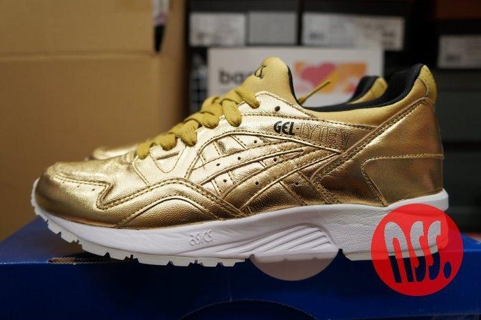 特價「NSS』ASICS Tiger GEL-LYTE V Holiday Pack Liquid Gold 金 女鞋