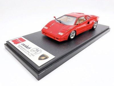 【秉田屋】Make Up Eidolon Lamborghini 藍寶堅尼 Countach 25週年 紅 1/43