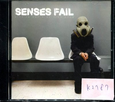 *真音樂* SENSES FAIL / LIFE IS NOT 二手 K2787 (封面底破) (清倉.下標賣5)