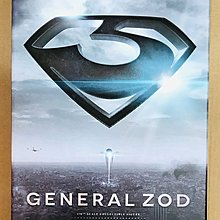 全新 HOT TOYS Hottoys - Superman Man of Steel - MMS216 General Zof 鋼鐵英雄 蕯德將軍