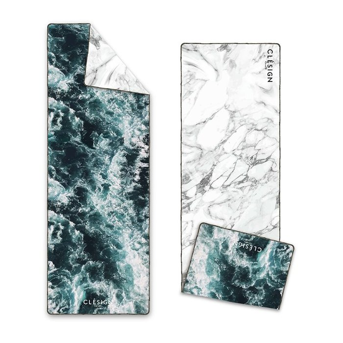 TuTu瑜珈精品╭☆Clesign【OSE鋪巾系列-Blue Sea (OSET-D12) *新品】