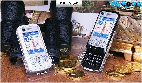 "Nokia 6110/6110 Navig 導航機《 全新旅充+全新原廠電池》 按下即使用"" 免月租費"" 3G可用"