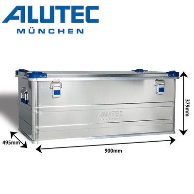 台灣總代理 德國ALUTEC -工業風鋁箱 戶外工具收納 露營收納 居家收納(140L)