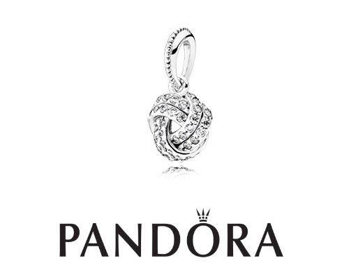 金永珍珠寶鐘錶* 2016最新母親節款 PANDORA 潘朵拉 原廠真品 雪球白鑽吊飾 現貨*