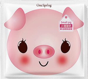 現貨-小豬奶酸面膜-活膚-白色包裝...