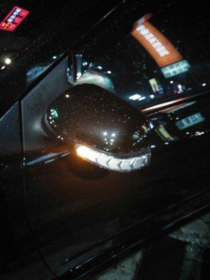DJD18080442 豐田 2007-12 ALTIS 10代 10.5代 多功能後視鏡 跑馬燈 小燈 方向燈 流水燈