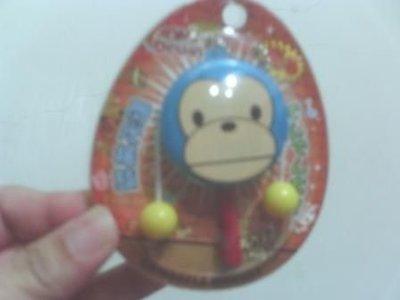 全新猴子閃光搖鼓吊飾~會發光喔