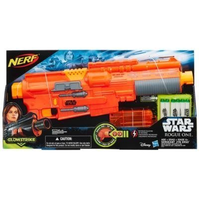 NERF  STAR WARS 星際大戰 外傳電影 反抗軍 JYN ERSO 電動聲光射擊器 孩之寶 星際聯名款