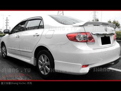 2011 2012 2013 豐田 TOYOTA ALTIS 10.5代 Z 後下巴 空力套件
