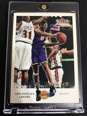🐍2000-01 Fleer focus Draft Position #155 Kobe Bryant