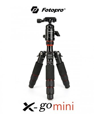 【EC數位】FOTOPRO 富圖寶 X-go Mini 碳纖專業迷你三腳架 8層碳纖腳管 攜帶方便 外拍 婚攝 旅遊