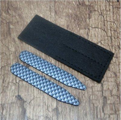 ☆Gentleman 紳士型男專賣☆ 商務西裝法式襯衫配件-菱紋領撐(collar stays) 61mm