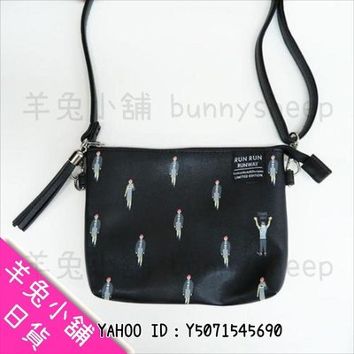 【日本&SMART PLUS可觸控手機袋 模特兒走秀】A401959 羊兔小舖 日貨 日本代購 手機包 斜背包 ipho