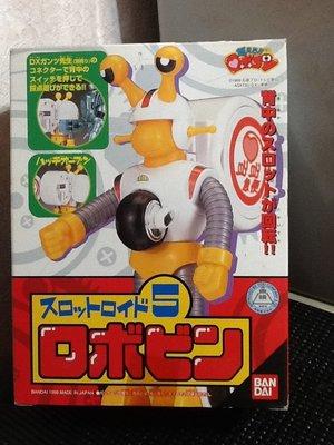 玩具魂`BANDAI出品`日本製小露寶系列之五號蝸牛機器人`1999年收藏品`少見美品`絕版貨