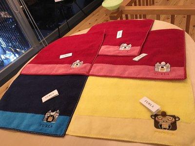 現貨在台 日本製 FURLA 純棉 小毛巾 日本連線 日本帶回