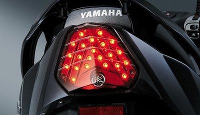 【車輪屋】YAMAHA 山葉原廠車殼&零件專賣 GTR aero 新款 2014 紅電鍍LED尾燈 後燈 特價$1350