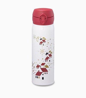 2014 星巴克STARBUCKS 聖誕節 限量雪地祝福隨身瓶500ml不鏽鋼隨行杯 膳魔師保溫瓶