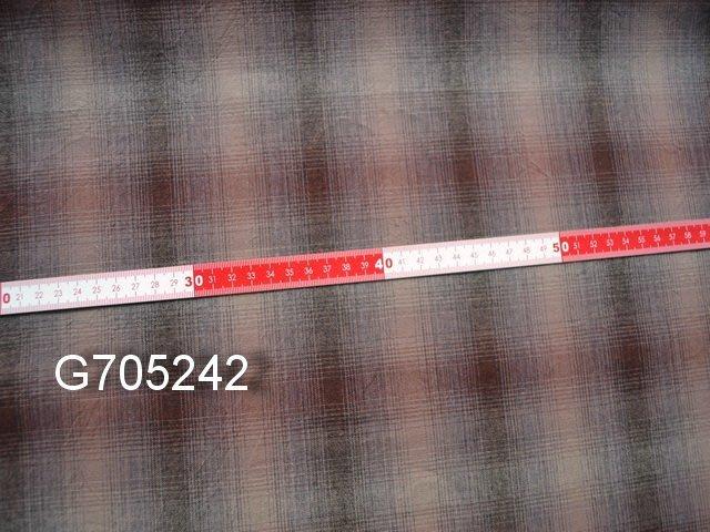 巧巧布拼布屋*日本進口~G705242先染布磚紅色漸層先染布