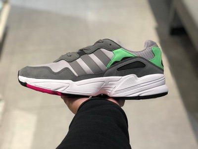 【路克球鞋小天地】愛迪達 ADIDAS Original YUNG-96 灰綠 灰色 老爹鞋 男鞋 F35020 鹿晗