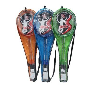 佳佳玩具 ----- 休閒級羽球拍組 一組兩支 羽毛球拍 附拍袋【XF5688】